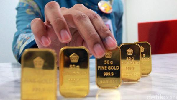 Harga Emas Antam Bertahan di Rp 657.000/Gram