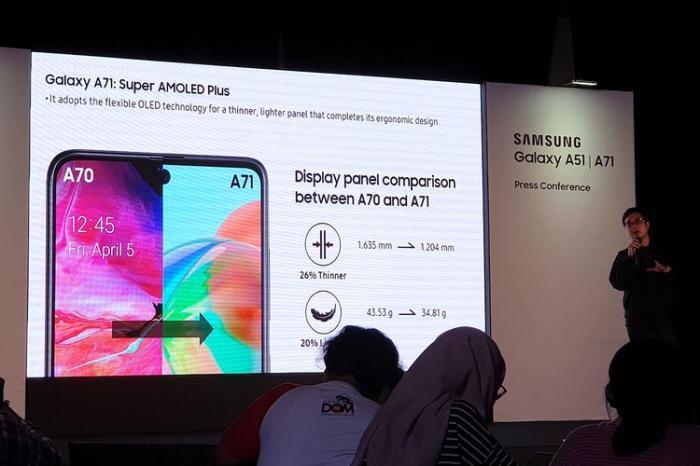 Pemesanan Dibuka 20 Januari, Ini Harga Samsung A71 di Indonesia