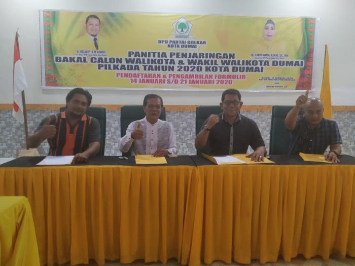 DPD Golkar Dumai Buka Penjaring Bacalon Pilkada 2020