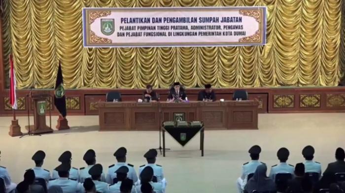 Zulkifli AS Lantik 203 Pejabat Pemko Dumai