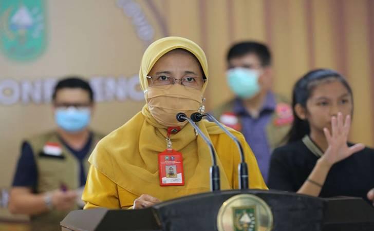 Covid 19 di Riau: Penambahan 96 Orang Positif, Sehat 166 Pasien