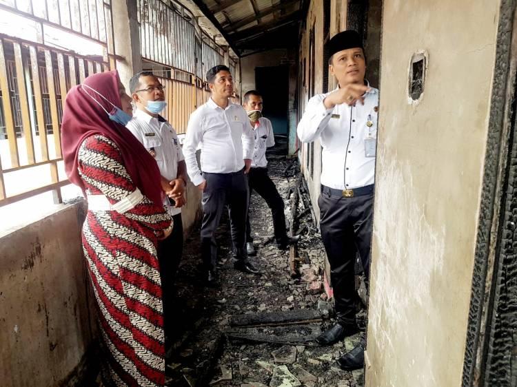 Pasca Kebakaran, Bina Marga PUPR Dumai Segera Renovasi Panti Asuhan An Nur