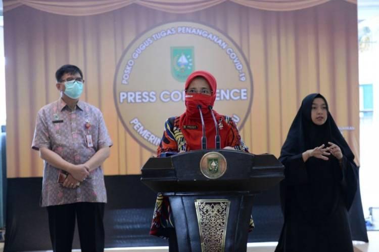 Covid 19 di Riau Ada Penambahan 188 Orang, Total 27.337 Pasien