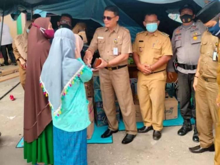 Bina Marga PUPR Dumai Salurkan Bantuan ke Panti Asuhan An Nur