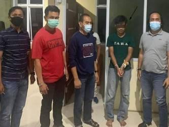 Residivis Begal Perempuan Ditangkap Brimob Polda Riau