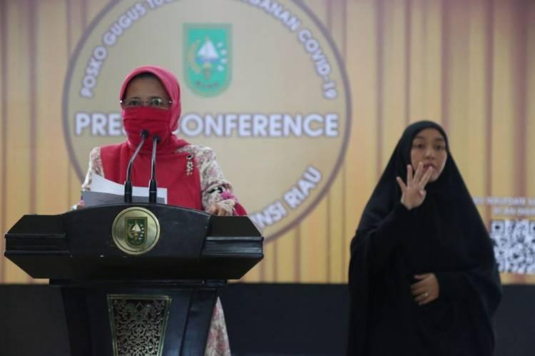 Dua Pekan, Tercatat 2.474 Nakes dan Tomas di Riau Sudah Disuntik Vaksin