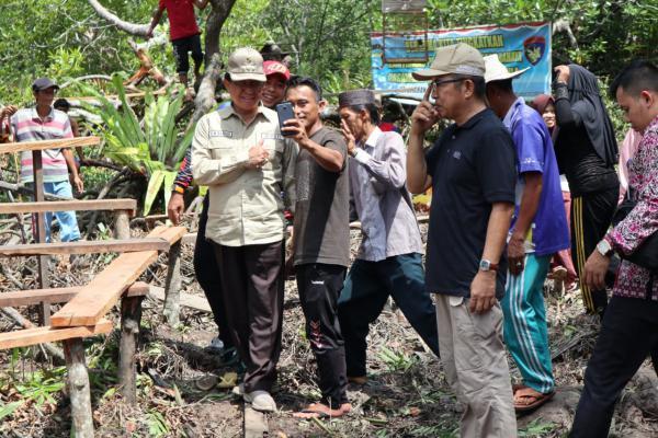 Parit Basirah Jadi Kampung Nelayan di Inhil