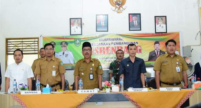 Tujuh Anggota DPRD Bengkalis Ikuti Musrenbang Talang Muandau
