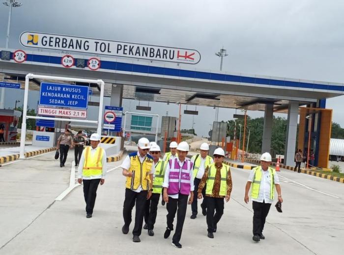 Jokowi Sebut Tol Pekanbaru-Dumai Akhir April Tuntas