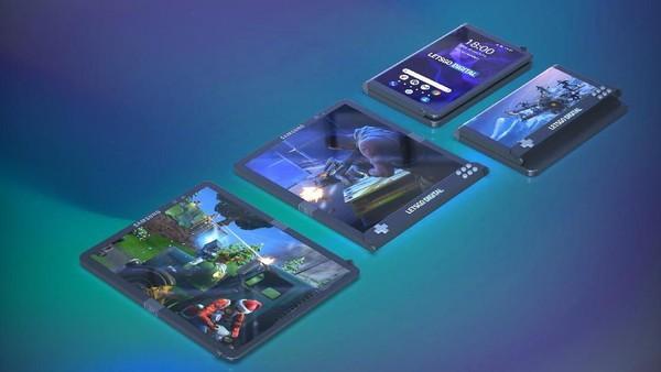 Samsung Ngaku Bisa Bikin Ponsel Lipat Tiga