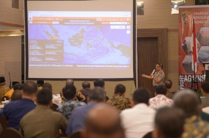 Polda Riau Tetapkan 34 Tersangka Kasus Karhutla