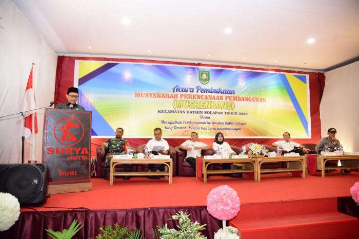 Musrembang Kecamatan Bathin Solapan, DPRD Bengkalis Alokasi Anggaran Rp113,6 Miliar
