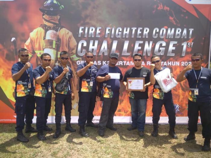 Tim Fire Figter Combat Patra Niaga Juara se Riau