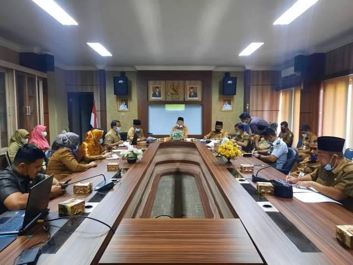 Sekdako Dumai Pimpin Rapat Persiapan Pelantikan Kepala Daerah Terpilih
