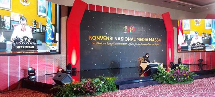 Sambut HPN 2021 Konvensi Nasional Media Massa Bahas Ekosistem Pers yang Berkelanjutan