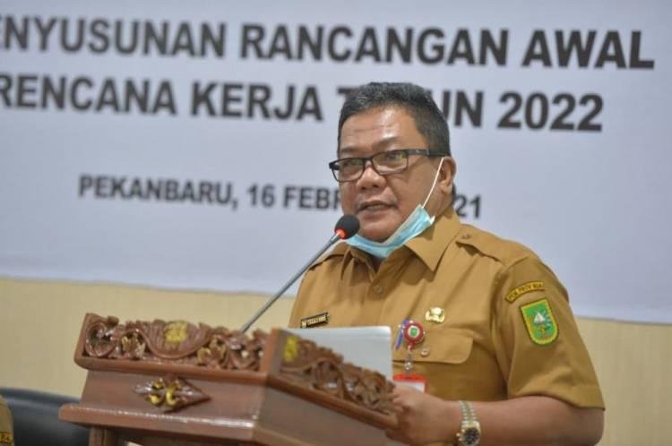 Kadiskominfotik Riau Pimpin Forum Perangkat Daerah Tahun 2021