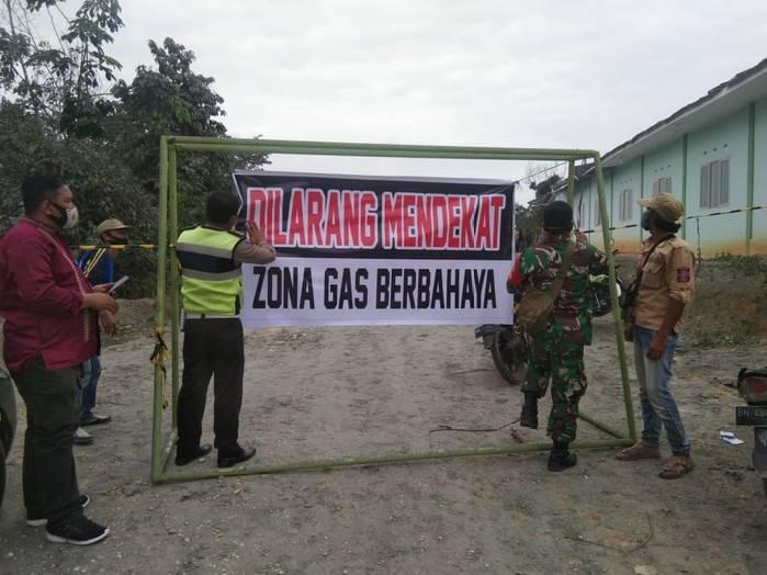 Status Berbahaya, Lokasi Semburan Lumpur di Ponpes Al Ihsan Ditutup