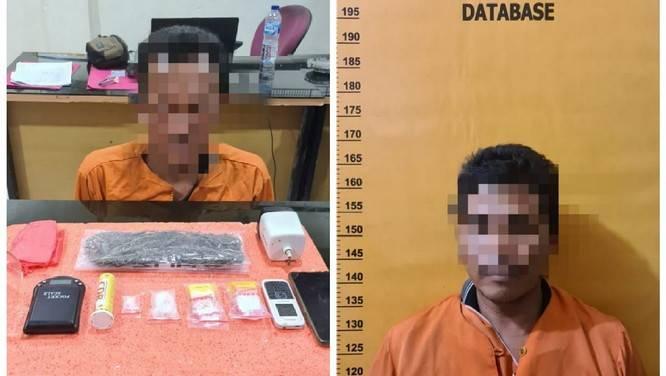 Pengedar Ditangkap, Seorang Tahanan Polsek Kempas, Inhil Sebagai Pemasok Sabu