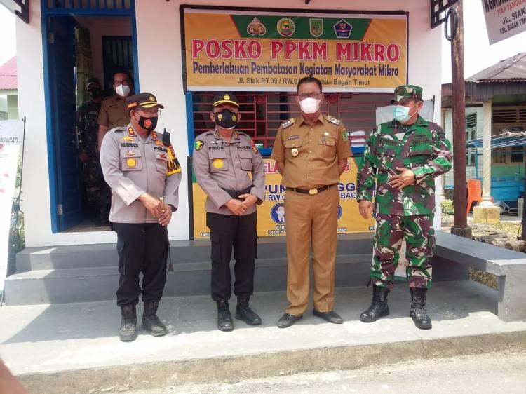 Waka Polda Riau Resmikan Sub Sektor Pekaitan Rohil
