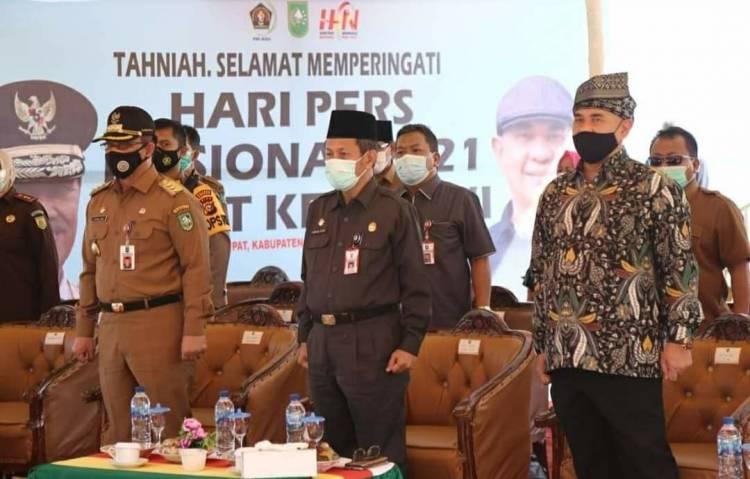 PWI Riau Kampanyekan Rupat di HPN 2021