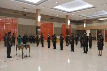 Kajati Lantik Enam Kajari di Riau