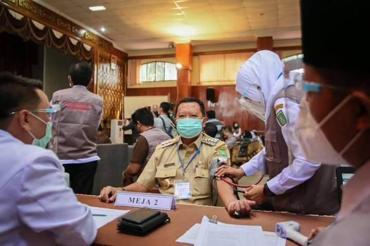 Hari Ini, Empat Kabupaten/Kota di Riau Mulai Vaksinasi