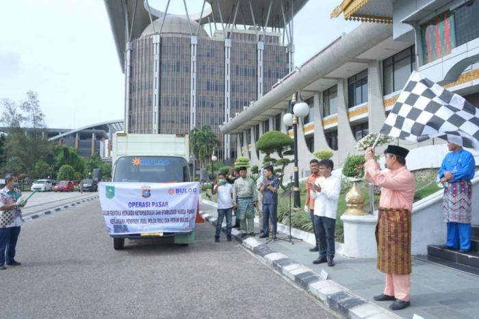 Pemprov Riau Launching Operasi Pasar