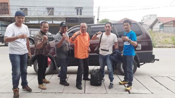Porwada Riau Cabor Tenis Meja Dua Wartawan PWI Dumai Berjaya di Kelompok U27