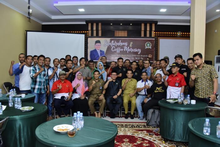 Ketua DPRD Bengkalis Jalin Kerjasama Media untuk Membangun Daerah