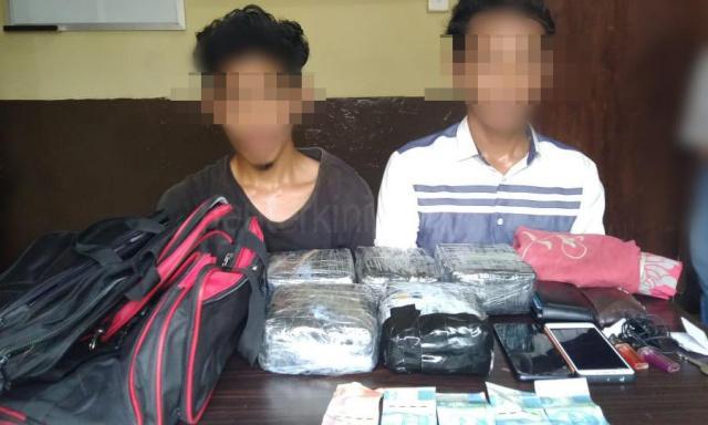 Polisi Ciduk Dua Kurir Sabu 5 Kilogram di Bengkalis