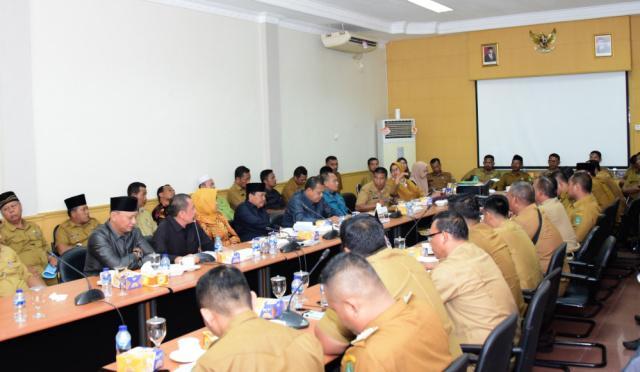 DPRD Bengkalis Hearing Penyelesaian Masalah Tapal Batas