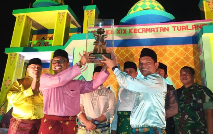 Kampung Tualang Juara MTQ XIX se Kecataman Tualang, Siak
