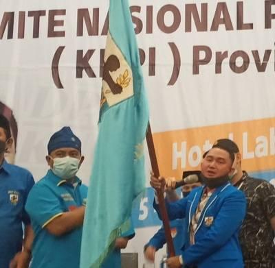Fuad Santoso Pimpin KNPI Riau Secara Aklamasi