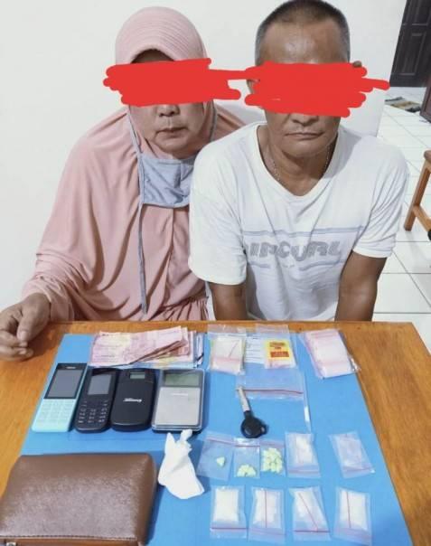 Miliki Paket Sabu, Oknum ASN Diskominfo Inhu dan Suami Diciduk Polisi