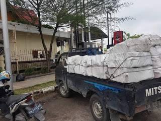 Polisi Tetapkan Tersangka Pengangkut Kayu Arang Bakau di Dumai