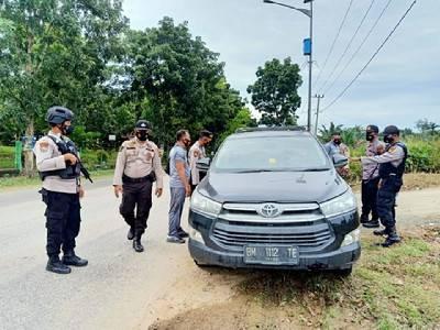 Jelang Musda KNPI Riau, Polisi Pelalawan Periksa Semua Kendaraan dan Penumpang