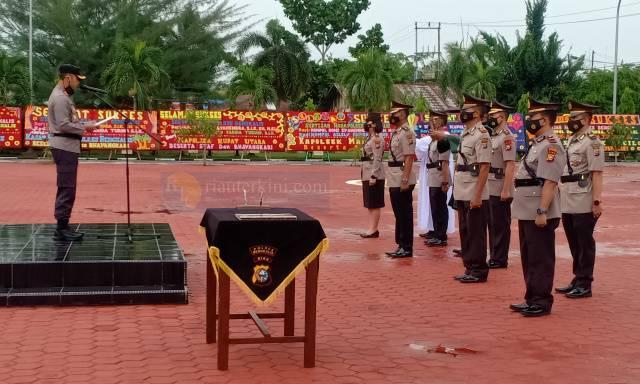 Empat Pejabat Polres Bengkalis Dimutasi