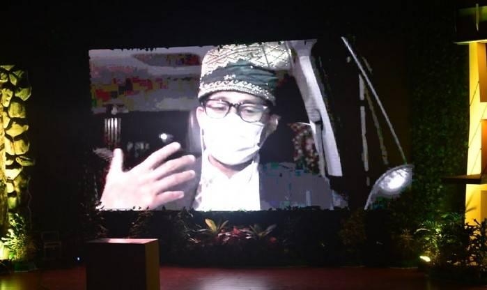 Sandiaga Uno Sebut Acara Reborn Dispar Riau Keren