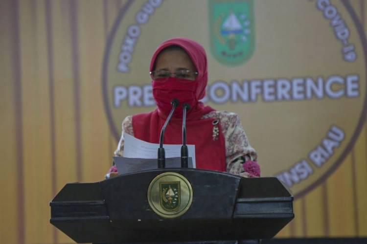 Pemprov Riau Sebut Resiko Daerah Yang Tidak Terapkan PSBB