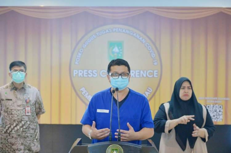 Laboratorium Biomolekuler RSUD Arifin Achmad Sudah Terima 6.000 Sampel