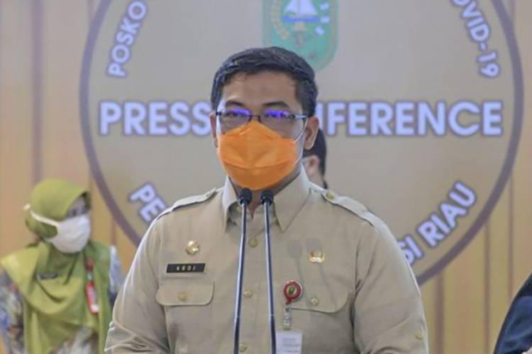 Pemprov Riau Segera Evaluasi Penyaluran Bankeu Dana Covid 19