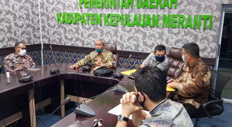 Buka Isolasi Daerah, Pemkab Meranti Rakor Bersama PT EMP