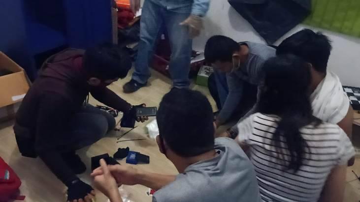 Polresta Pekanbaru Ciduk 2 Pasangan Pesta Narkoba di Hotel