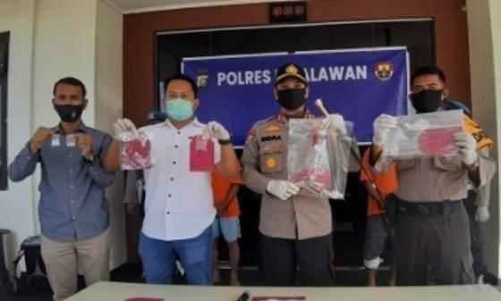 Polisi Tangkap Pembunuh Buruh Sawit di Pelalawan