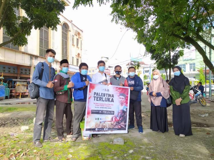 Awak Muda Riau Gelar Aksi Penggalangan Dana Palestina
