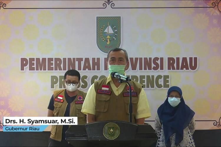 Empat Daerah di Riau Masuk Zona Merah