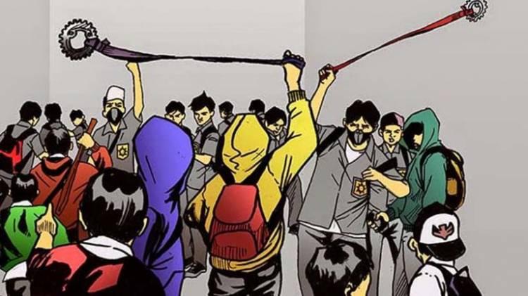 Pemuda di Bengkalis Tawuran, Sembilan Luka-luka