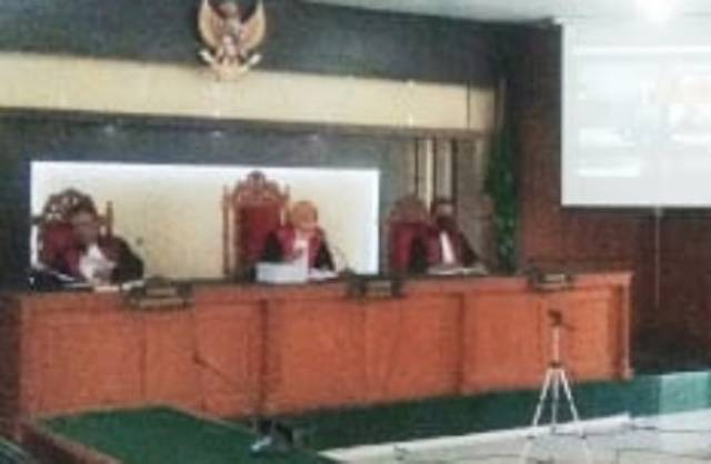 Sidang Dugaan Korupsi Bupati Bengkalis, Kuasa Hukum Minta Jangan Dipolitisir