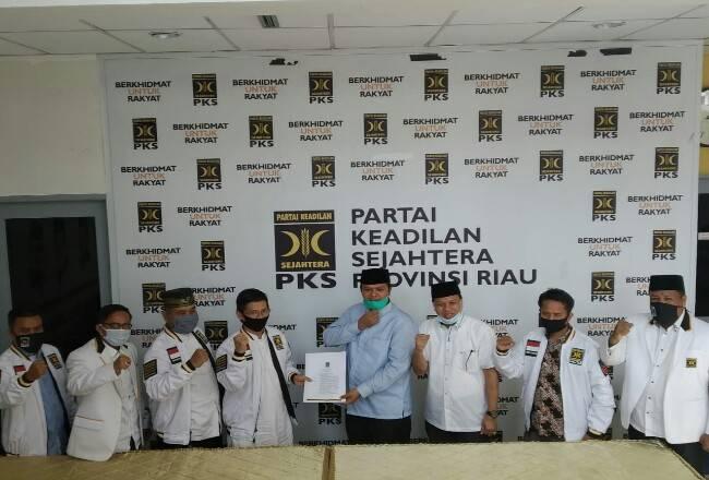Pilkada Kuansing, PKS Dukung Pasangan Andi Putra dan Suhardiman Ambi