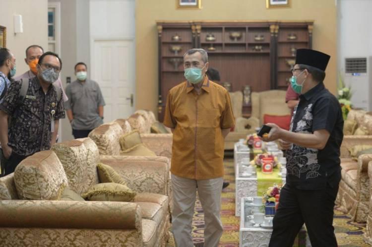 Walikota Dumai Harapkan Perhatian Provinsi Riau Terkait Infrastruktur